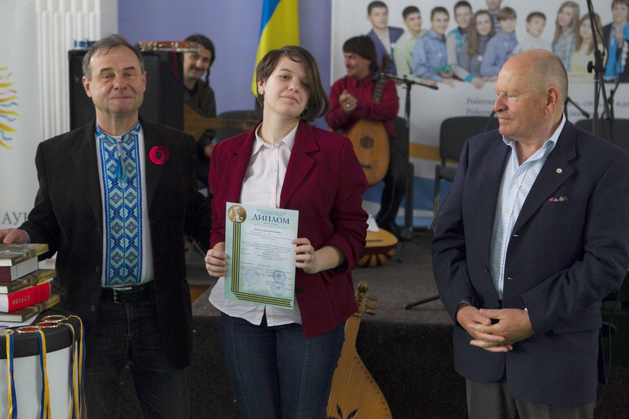 Дарина Казьміна - учасник Всеукраїнського етапу конкурсу-захисту наукових робіт МАН