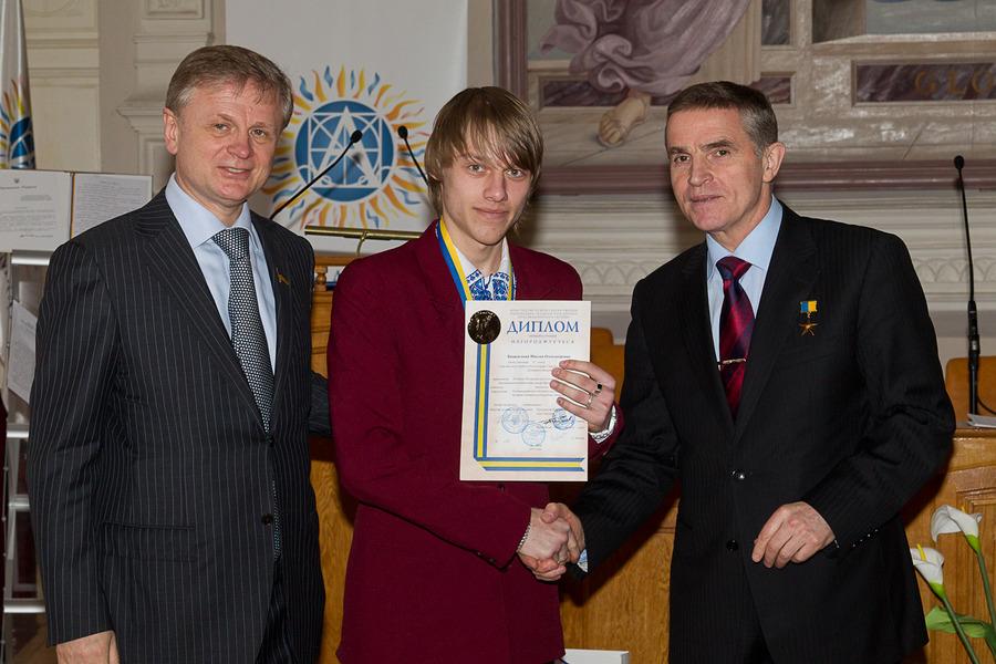 Хващевский Максим - переможець МАН 2013