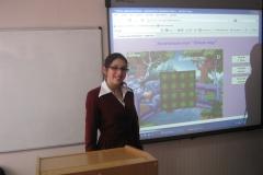 Дар'я Жамойтіна - учасник Всеукраїнського етапу конкурсу-захисту наукових робіт МАН